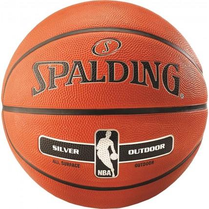 М'яч баскетбольний Spalding NBA Silver Outdoor Size 7