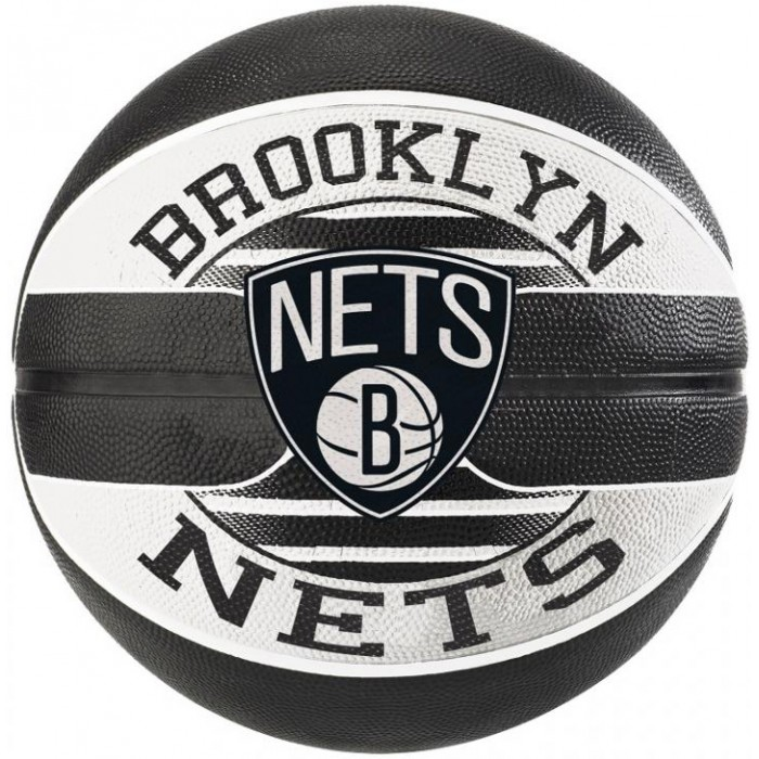 М'яч баскетбольний Spalding NBA Team Brooklyn Nets Size 7