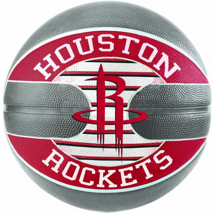М'яч баскетбольний Spalding NBA Team Houston Rockets Size 7