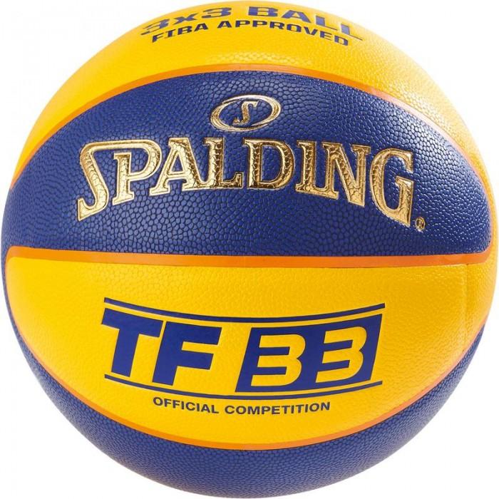 М'яч баскетбольний Spalding TF-33 IN/OUT FIBA Size 6