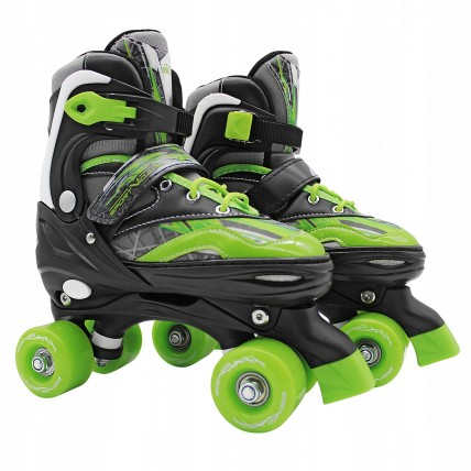 Роликові ковзани (квади) SportVida SV-LG0037 Size 31-34 Black/Green