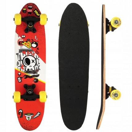 Скейтборд круїзер SportVida Abstract Red SV-RD0003