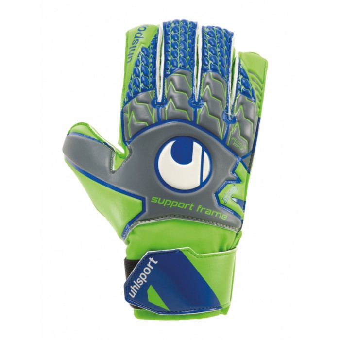 Вратарские перчатки Uhlsport Tensiongreen Soft SF Junior Size 5 Green/Blue