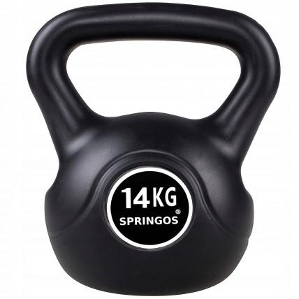 Гиря спортивна (тренувальна) Springos 14 кг FA1006