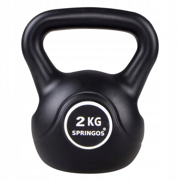 Гиря спортивна (тренувальна) Springos 2 кг FA1062